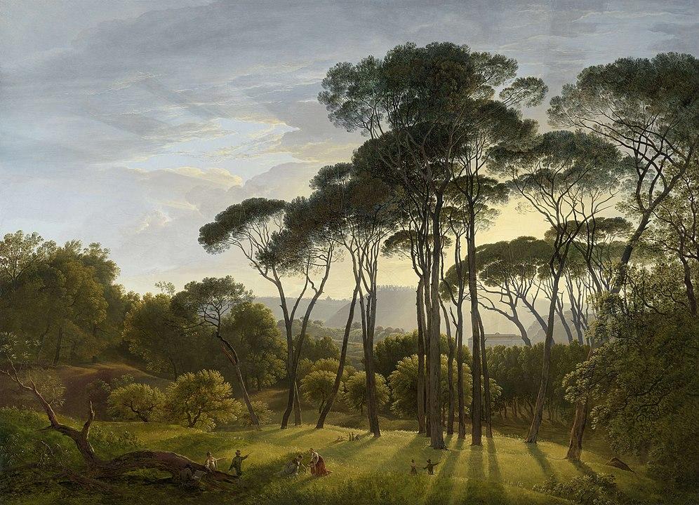996px-Hendrik_Voogd_-_Italian_landscape_with_Umbrella_Pines