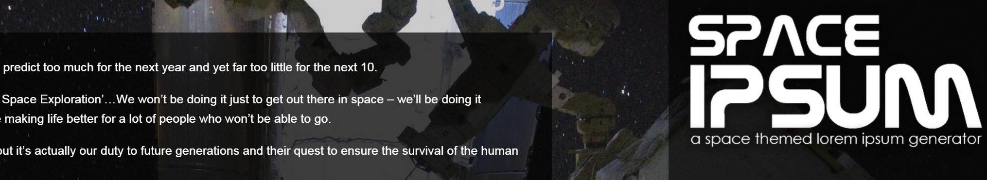 http://spaceipsum.com/