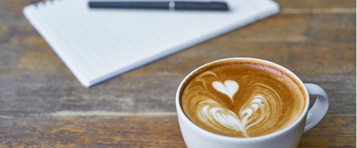 Kaffe och skrivblock-1